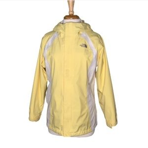The North Face Hyvent Yellow/Gray/White Jacket XL